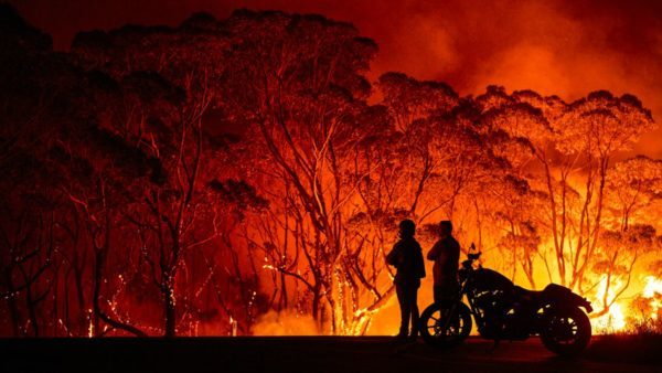 Australia fire Destruction