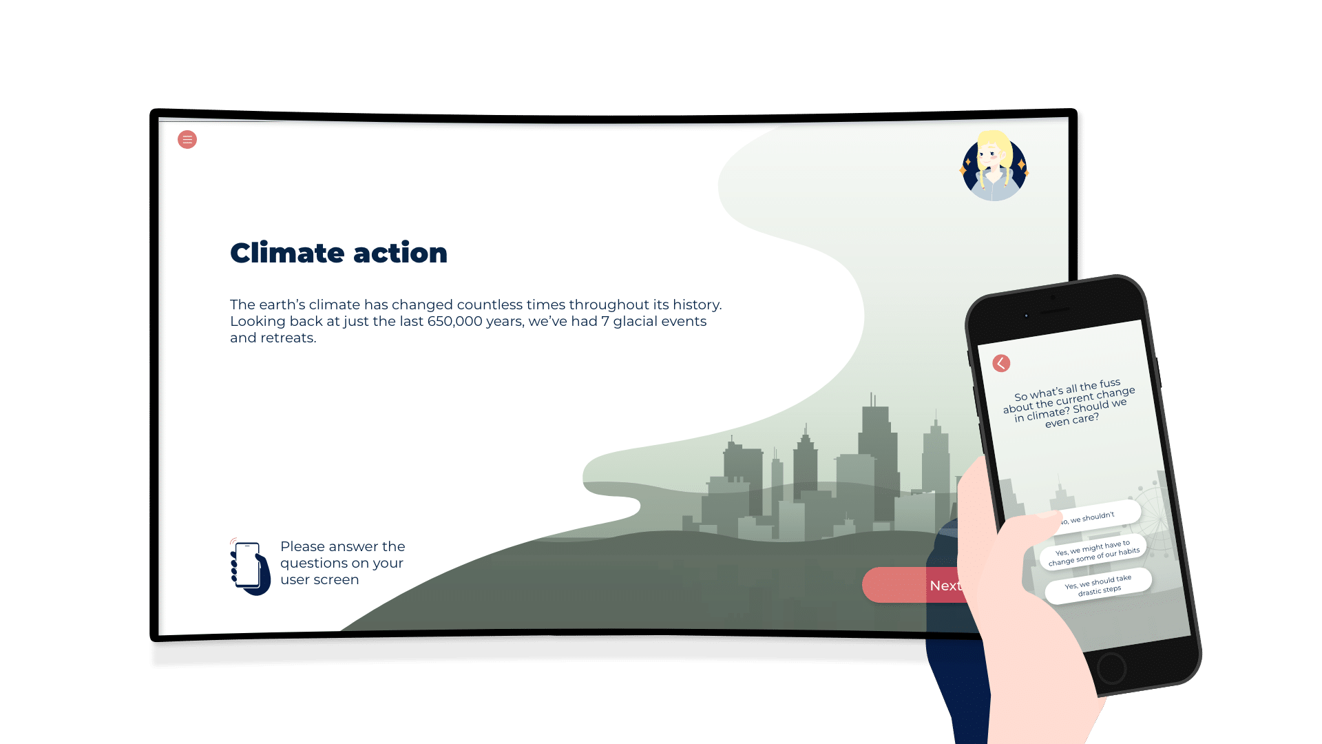 Climate action module of our sustainability solution