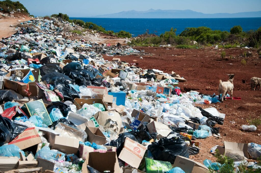 Overconsumption generates mountains of waste